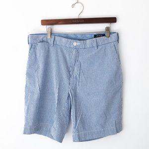 NEW Polo Ralph Lauren Seersucker Stretch Short